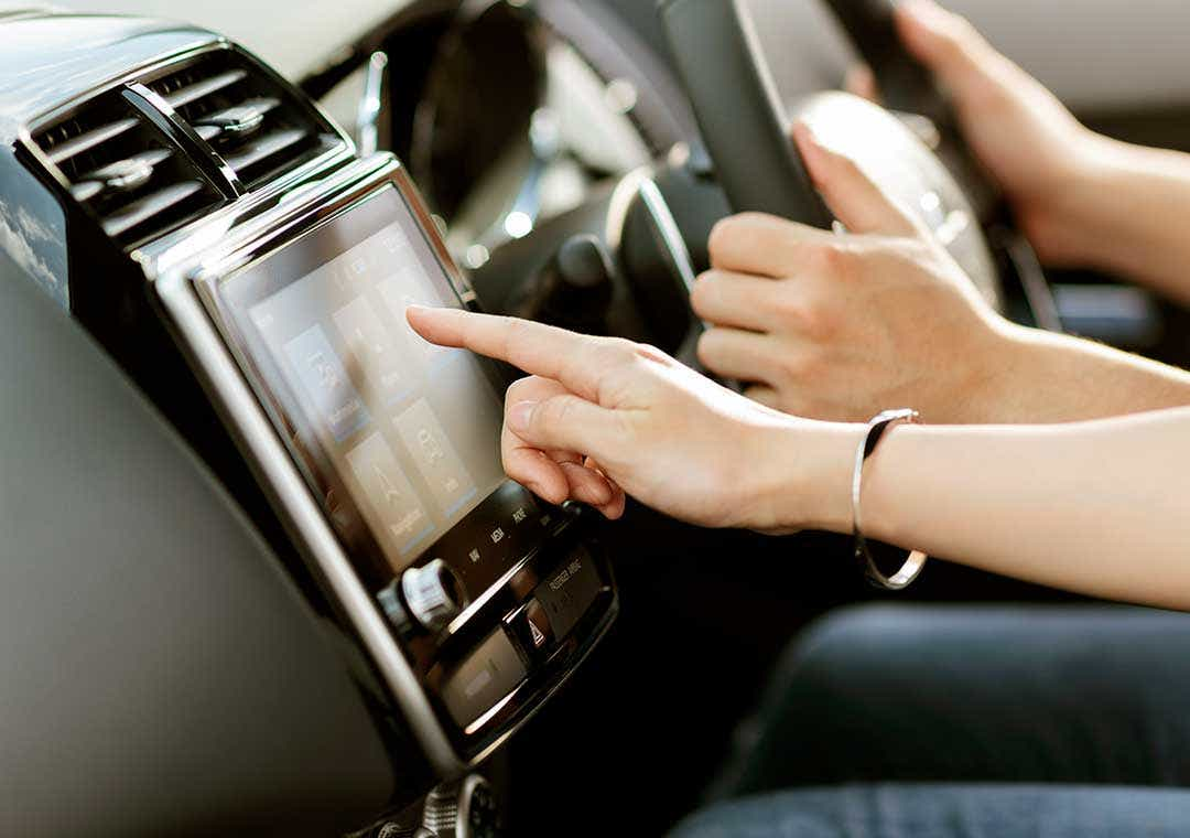 ASX touch screen entertainment system
