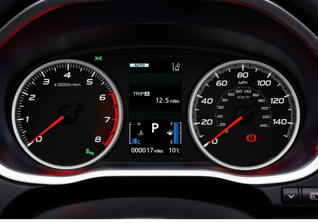 Eclipse Cross driver information display