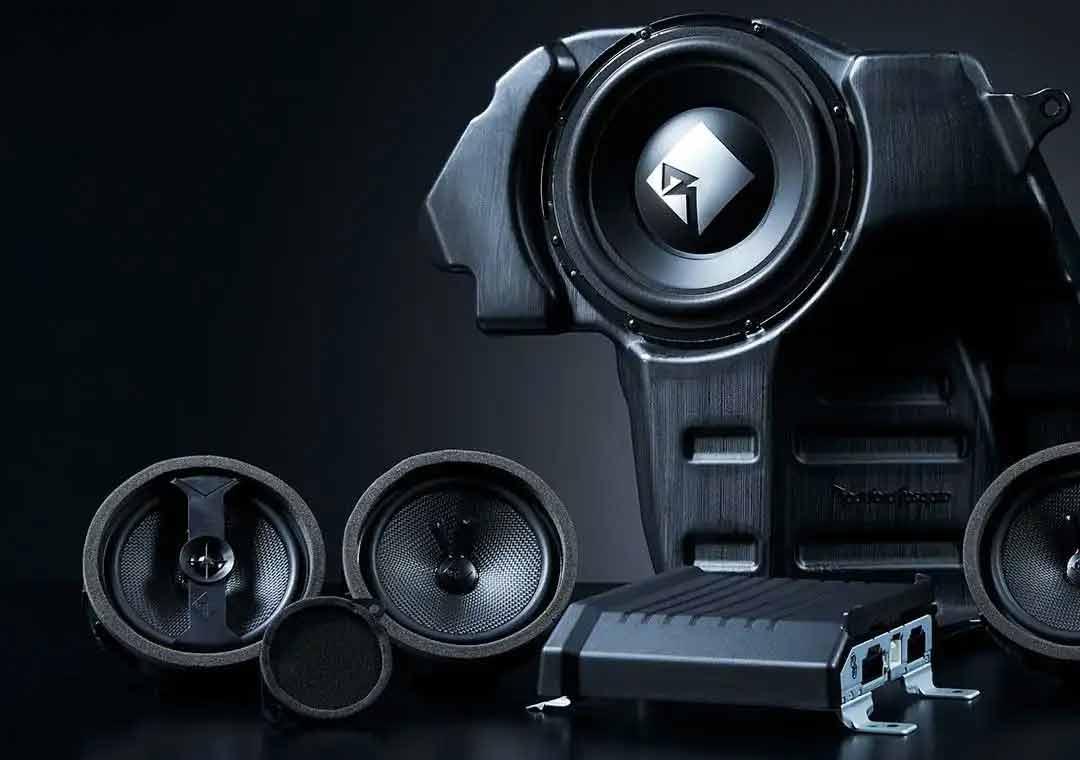 Eclipse Cross Sound System