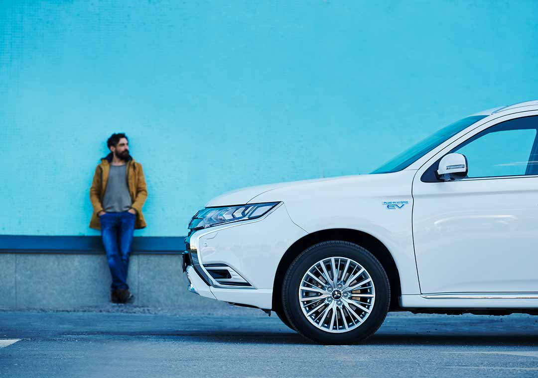 Outlander PHEV and driver