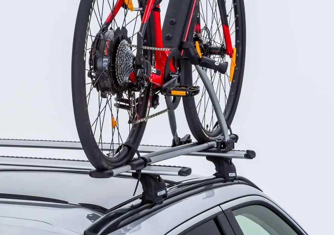 Eclipse Cross bike carrier
