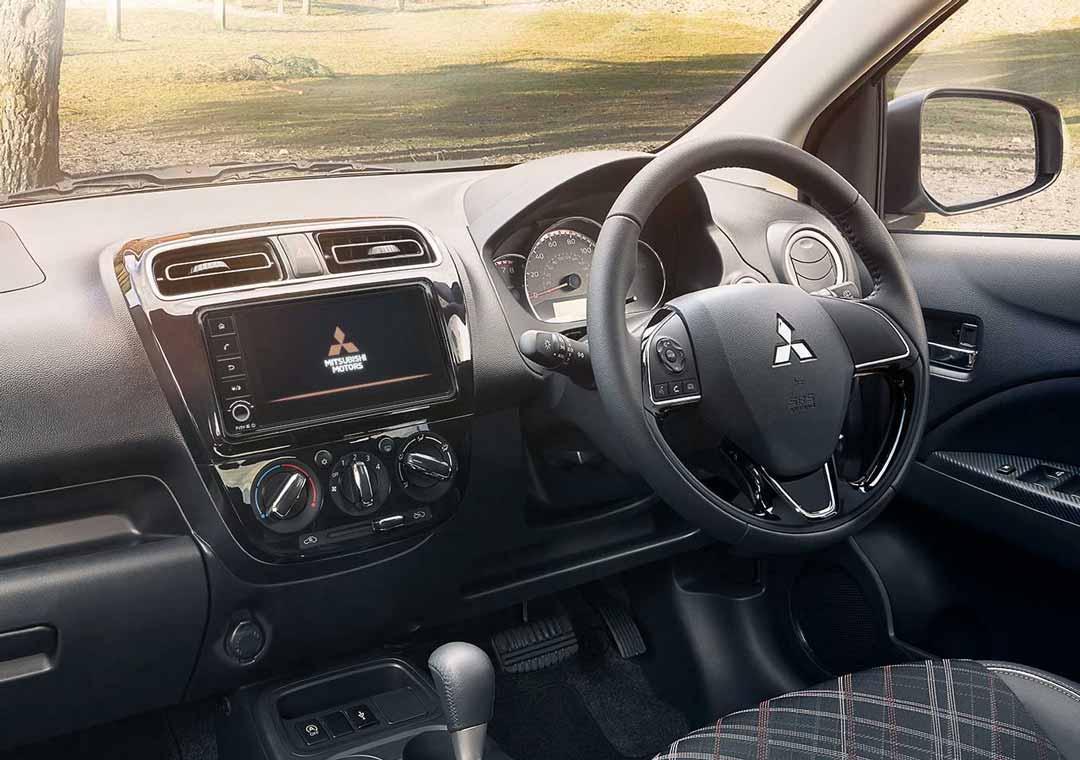 Mirage interior console