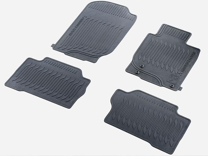 Rubber Mat Set
